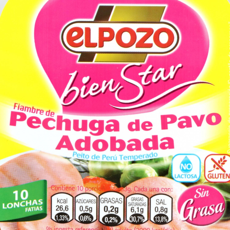 Pechuga de Pavo Adobada El Pozo 330 gr - 3