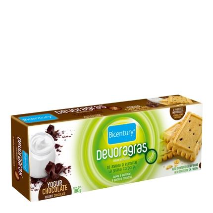 Devoragras galletas yogur y chocolate