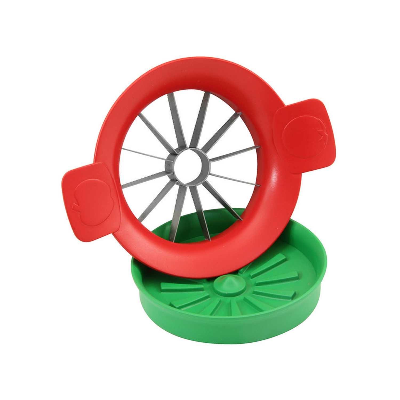 Cortador de tomate Funny Kitchen 16,7cm  Rojo -