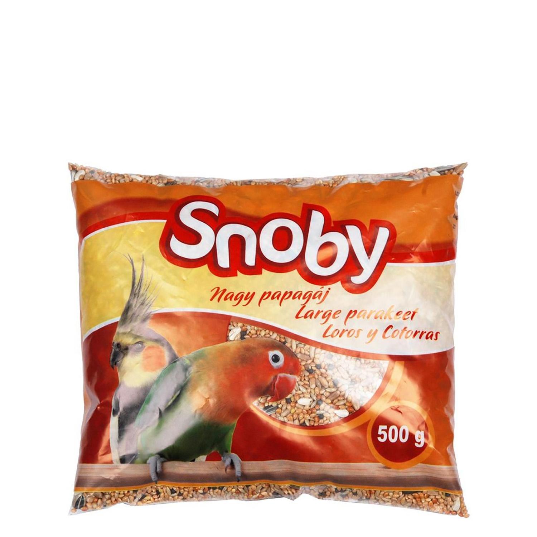 Comida para Loros y Cotorras Snoby 500 gr -