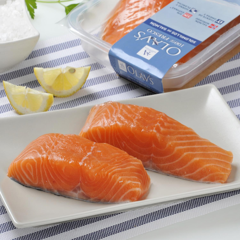 Solomillo de salmón