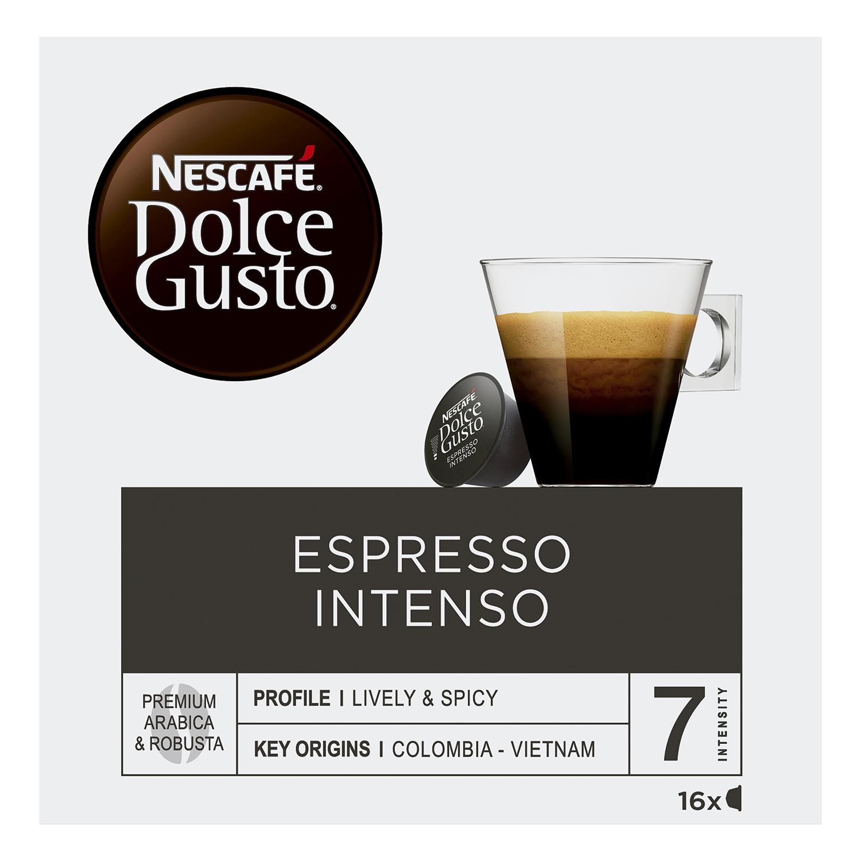 Café espresso intenso en cápsulas -