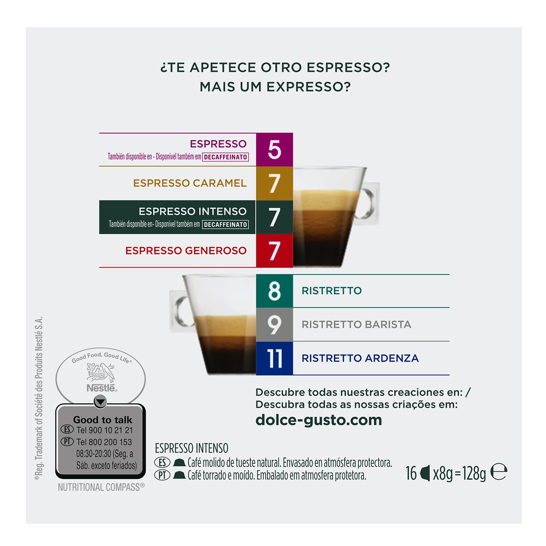 Café espresso intenso en cápsulas - 2