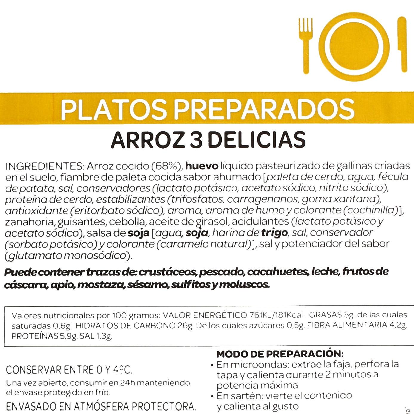Arroz tres delicias Ta-Tung 350 g - 3