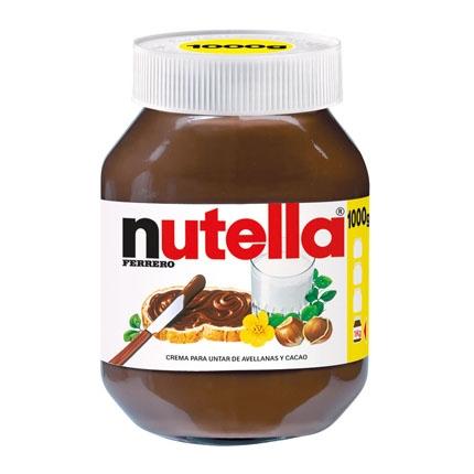 Crema de cacao con avellanas Nutella 1 kg.