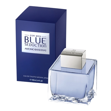 e0c645e74 Agua de colonia para hombre blue seduction Antonio Banderas 100 ml ...