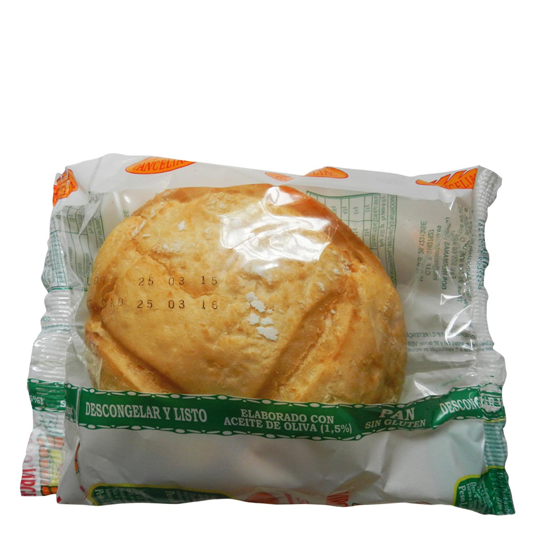 Pan mollete Panceliac sin gluten 80 g.