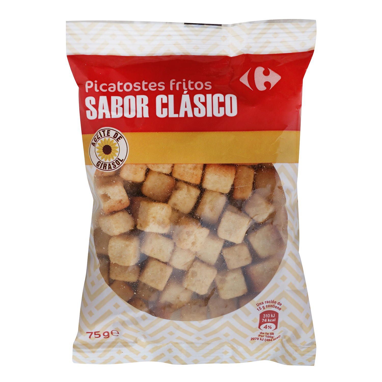 Picatostes fritos sabor clásico