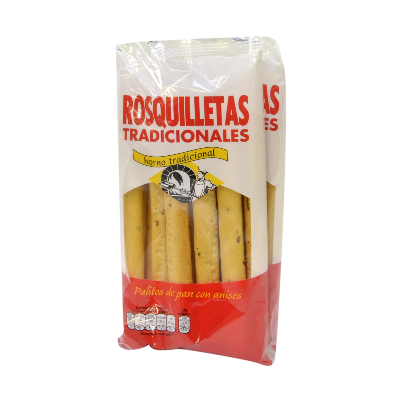 Palitos de pan con anises Rosquilletas tradicionales pack de 2 unidades de 90 g.