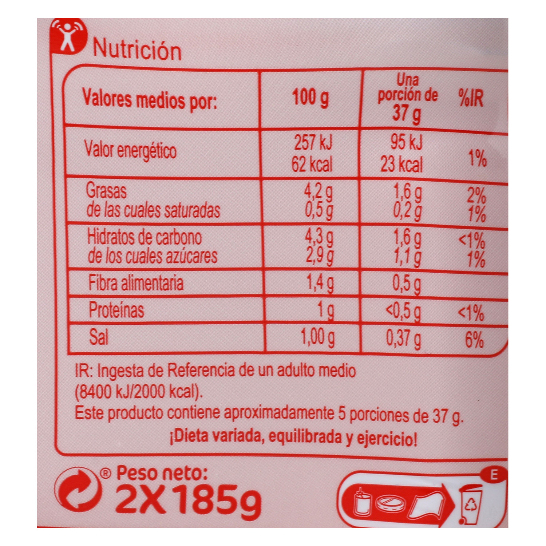 Tumaca natural con aceite de oliva Carrefour 370 g. - 3