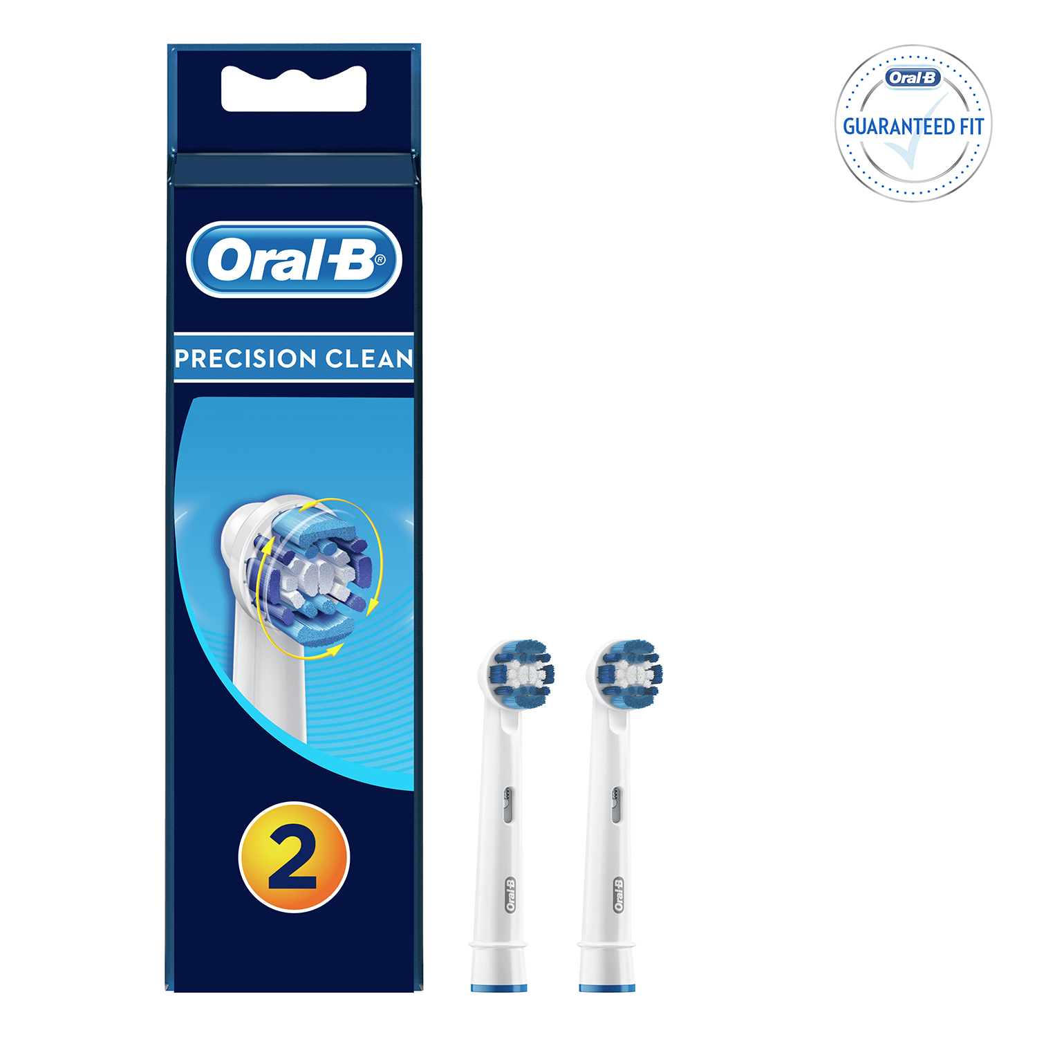 Cepillo dental eléctrico Precisión Cleam recambio Oral-B 2 ud. -