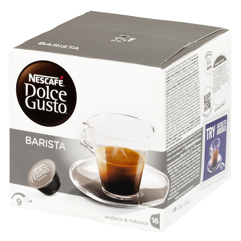 Café barista en cápsulas Nescafé Dolce Gusto 16 unidades de 7,5 g.