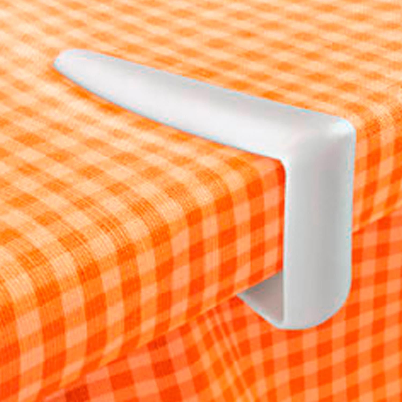 Pinzas Sujetamanteles de Plástico TESCOMA Presto  - Blanco -