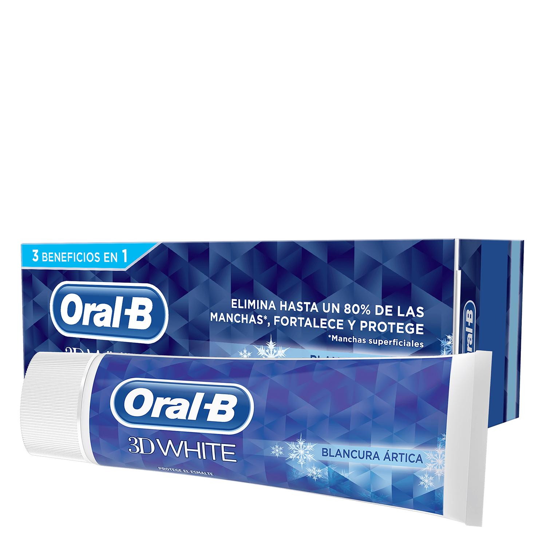 Dentífrico 3D White Blancura radiante Oral-B 75 ml.