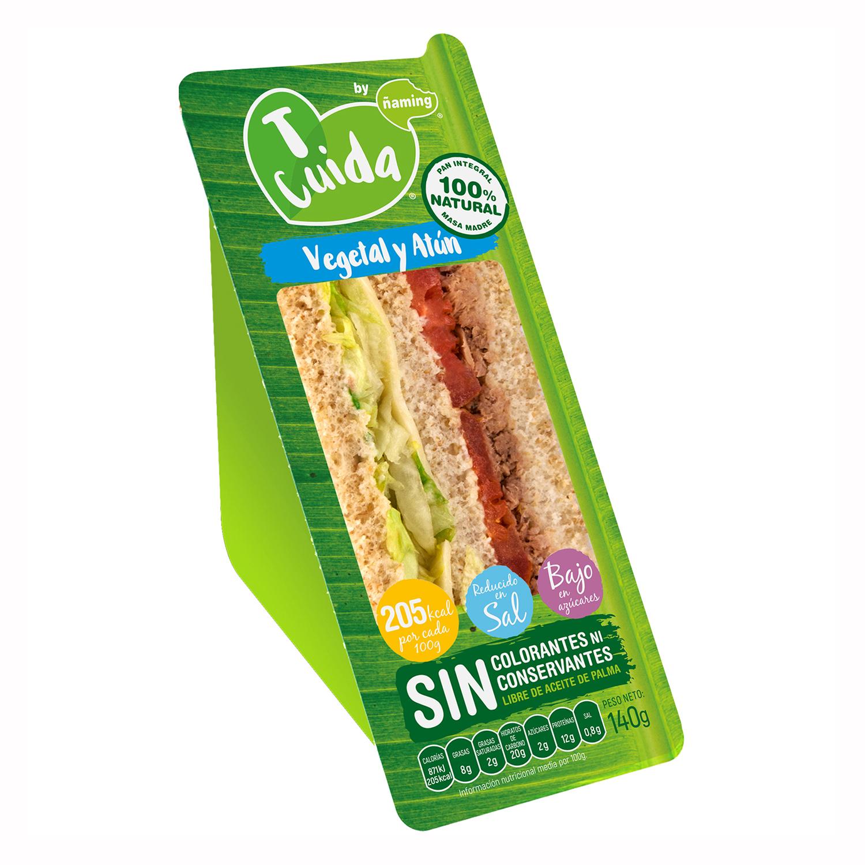 Sándwich vegetal Ñaming 140 g.