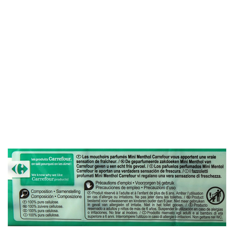 Pañuelo de bolsillo mentol - 2