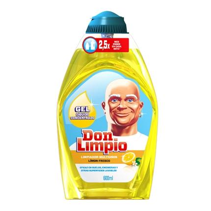 Gel limpiador multiusos limón fresco
