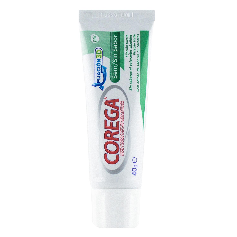 Crema fijadora para prótesis dentales SIN SABOR -