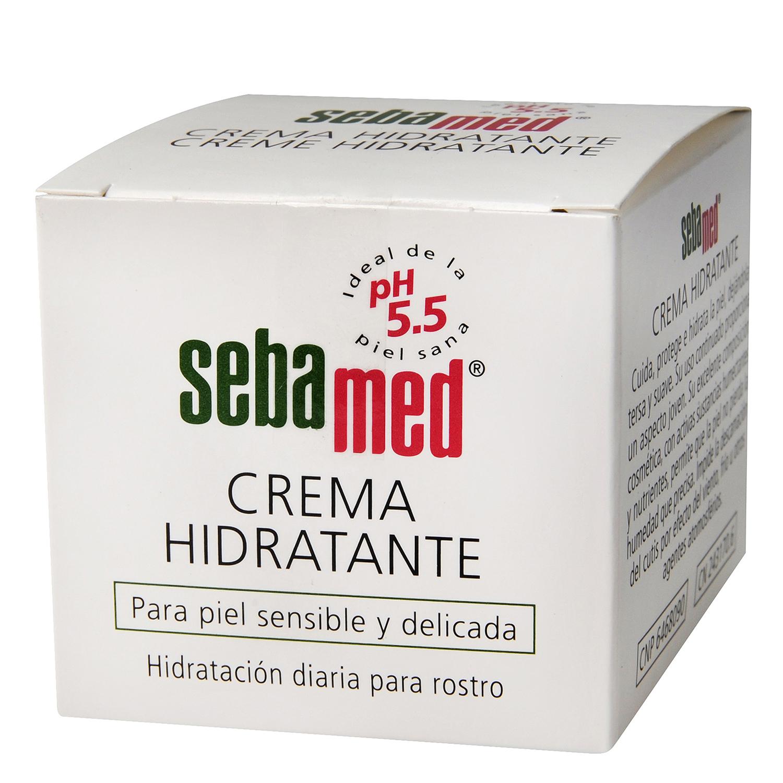Crema hidratante para piel sensible y delicada 75 ml. Sebamed ...