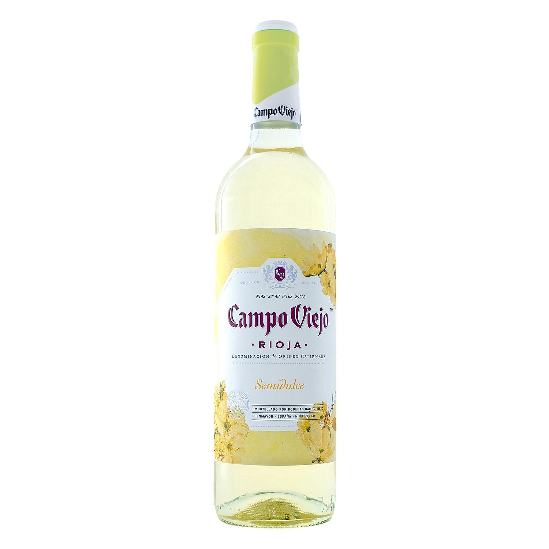 Vino D.O. Rioja blanco semi dulce
