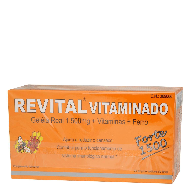 Complemento alimenticio con jalea real, vitaminas y hierro