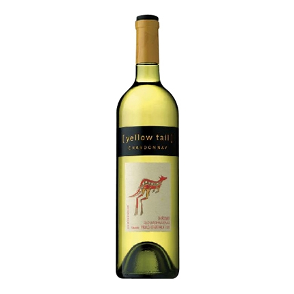 Vino blanco australia chardonnay Yellow Tail 75 cl.