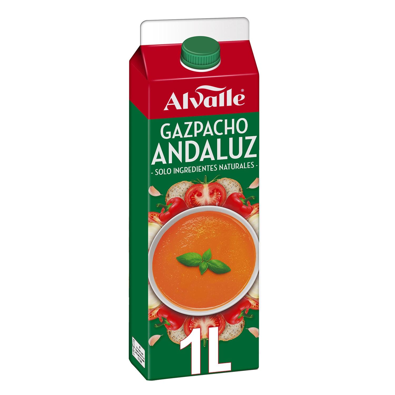Gazpacho andaluz Alvalle 1 l.