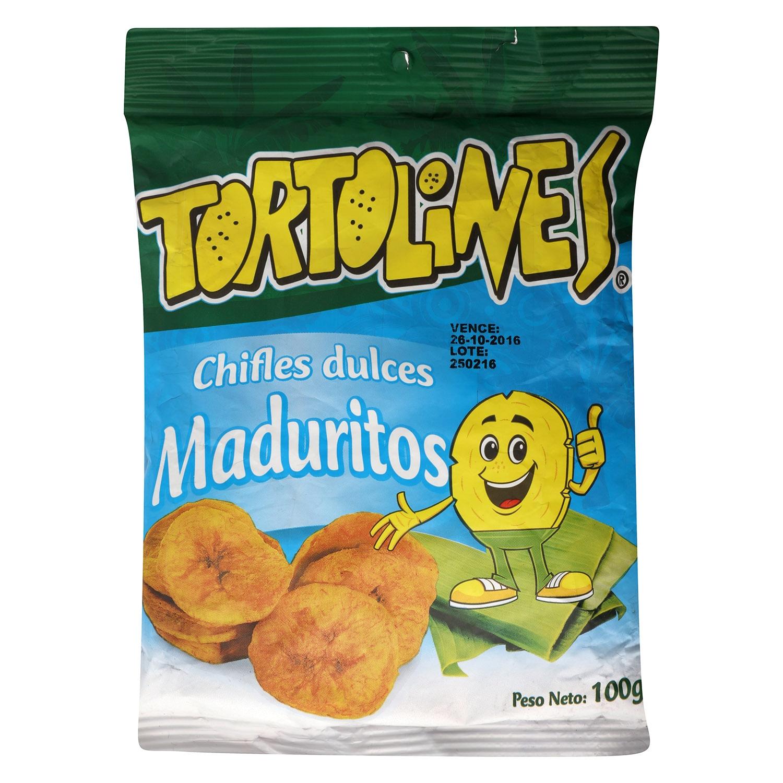 Snacks chifles dulces Tortolines 100 g.