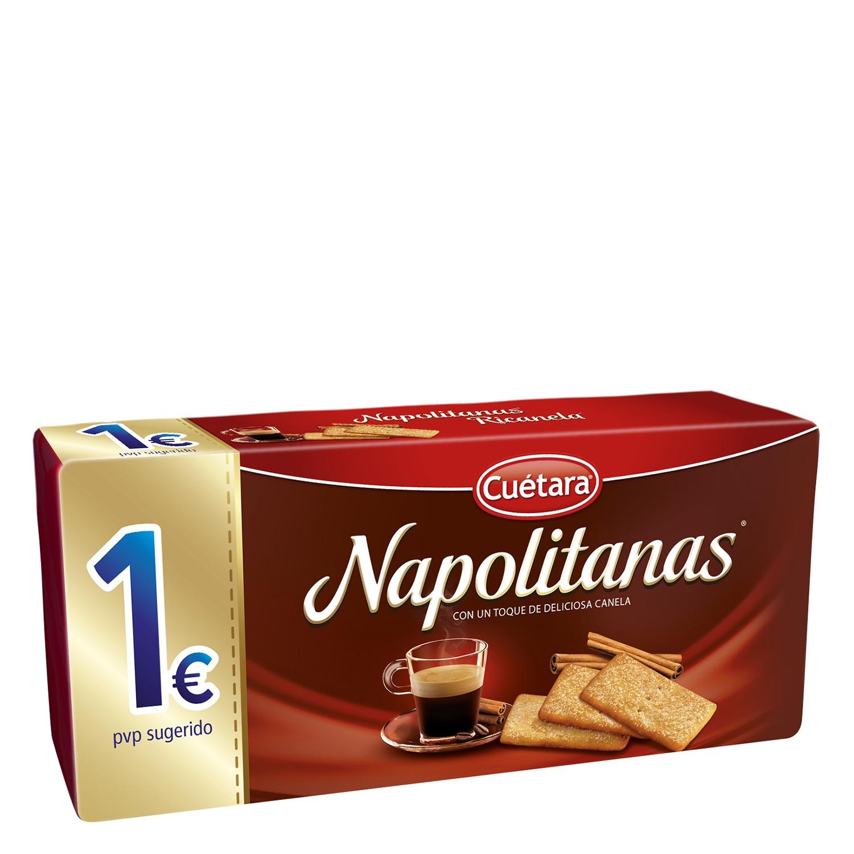 Galleta napolitana con canela