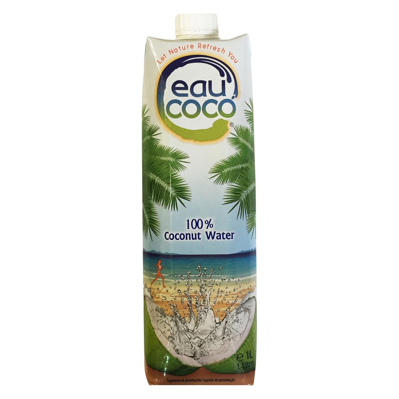 Agua de coco Eau Coco natural brick