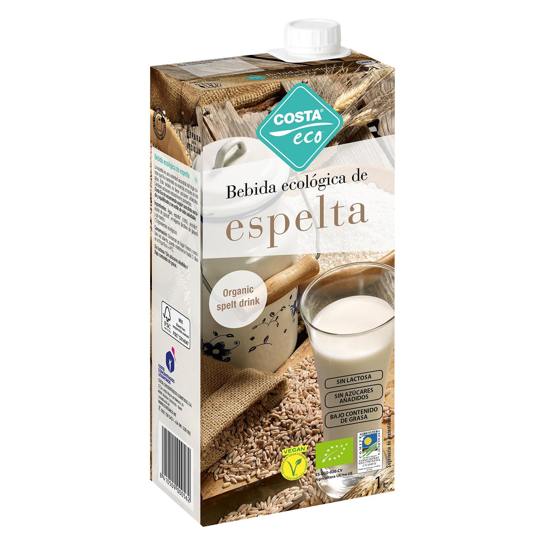 Bebida de espelta ecológica Costa Eco brik 1 l.