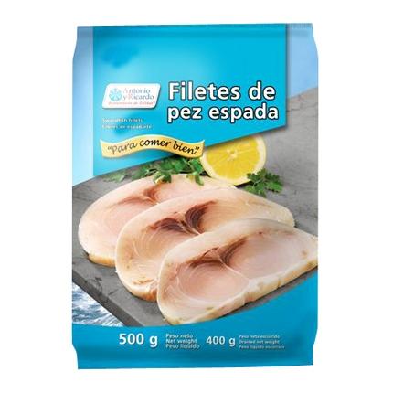 Filetes de pez espada