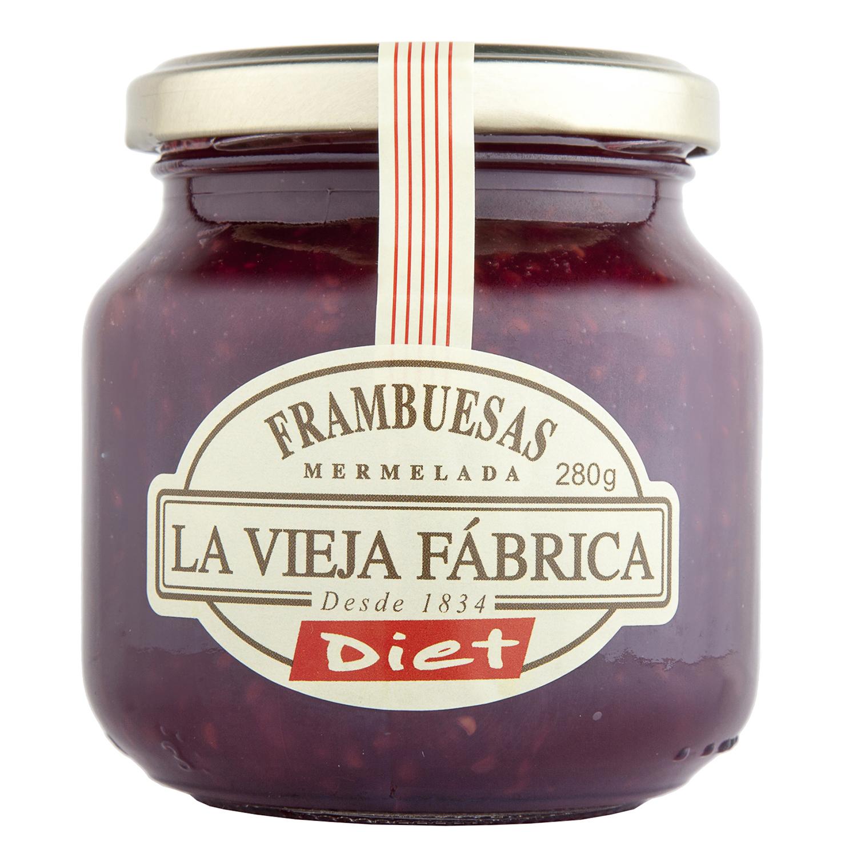Mermelada de frambuesa Diet La Vieja Fábrica 280 g.