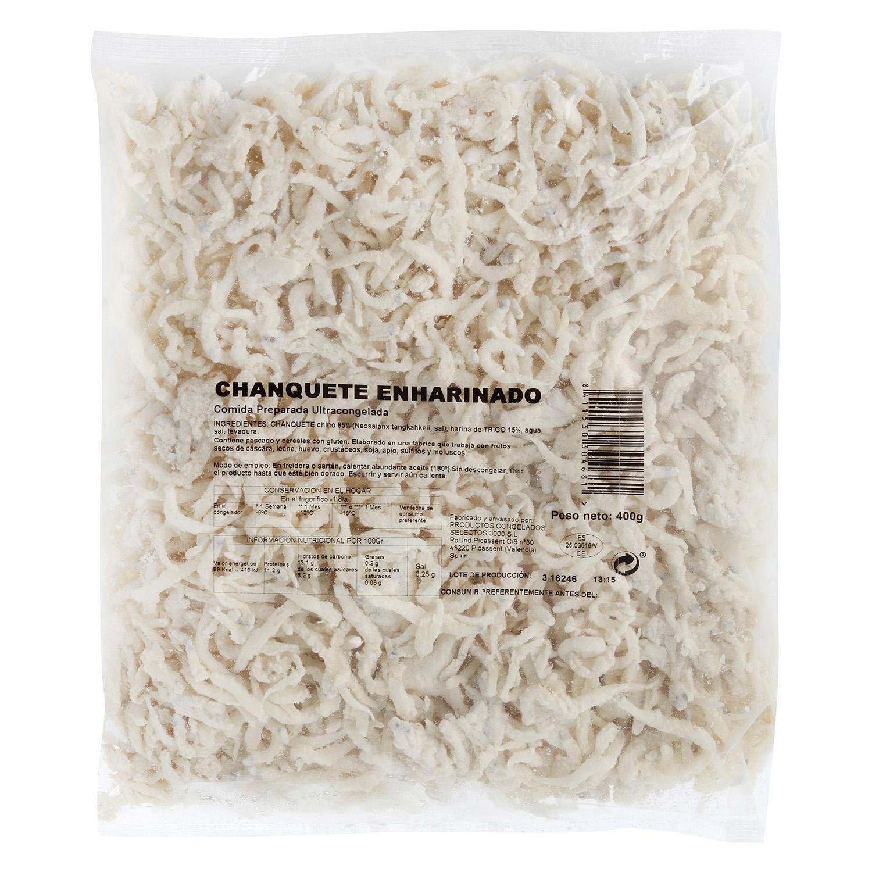 Chanquete enharinado -