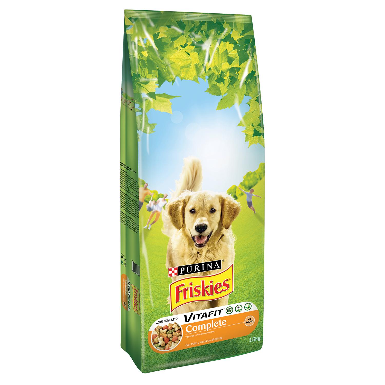 Purina Friskies Vitafit Complete Pienso para Perro Adulto Pollo 15Kg