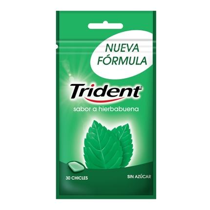 Chicles sabor hierbabuena Trident 30 ud.