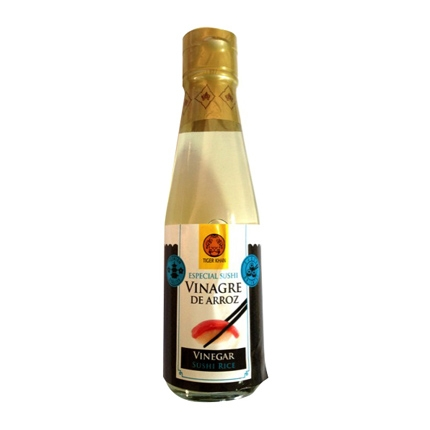 Vinagre de arroz Tiger Khan 200 ml.