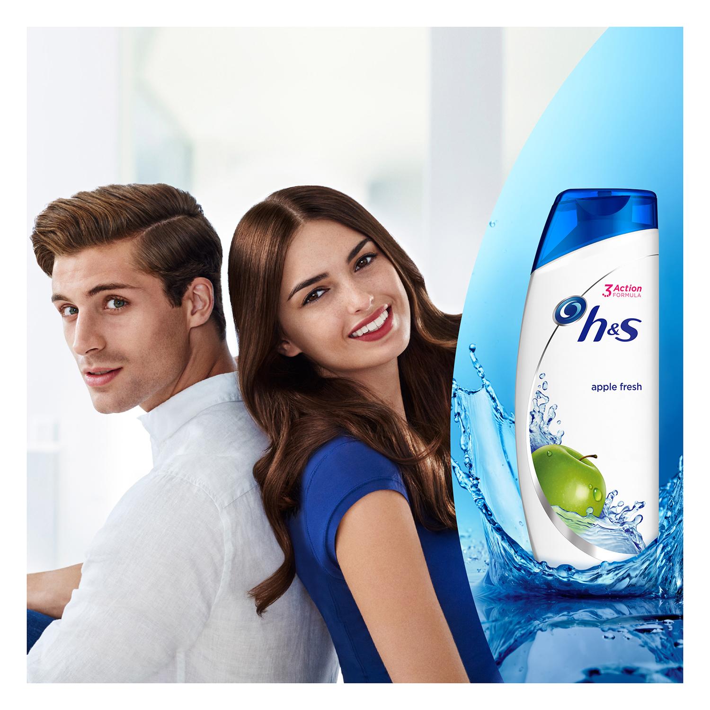 Champú anticaspa para cabello limpio y fresco Apple Fresh H&S 700ml. - 3