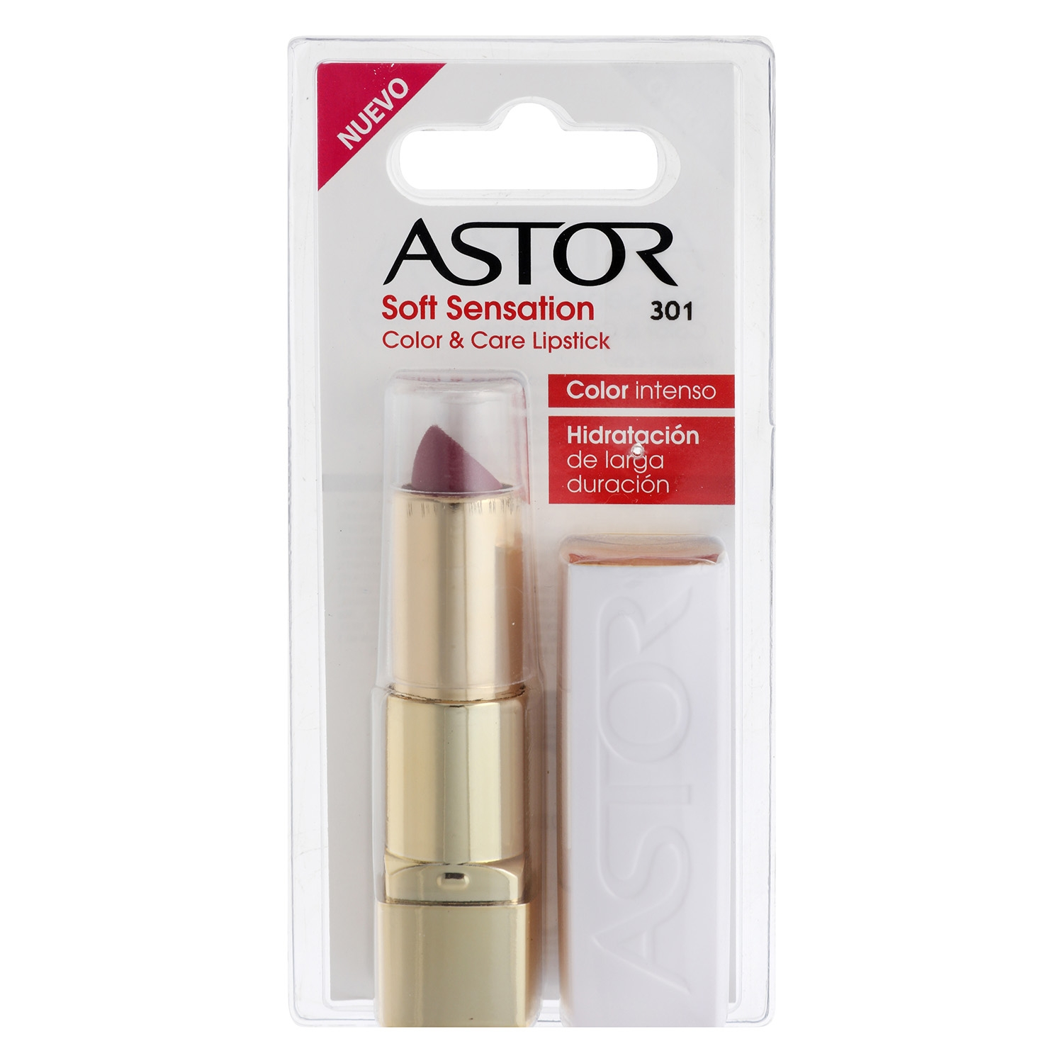 Barra de labios Soft Sensation Color&Care nº301 satin mauve