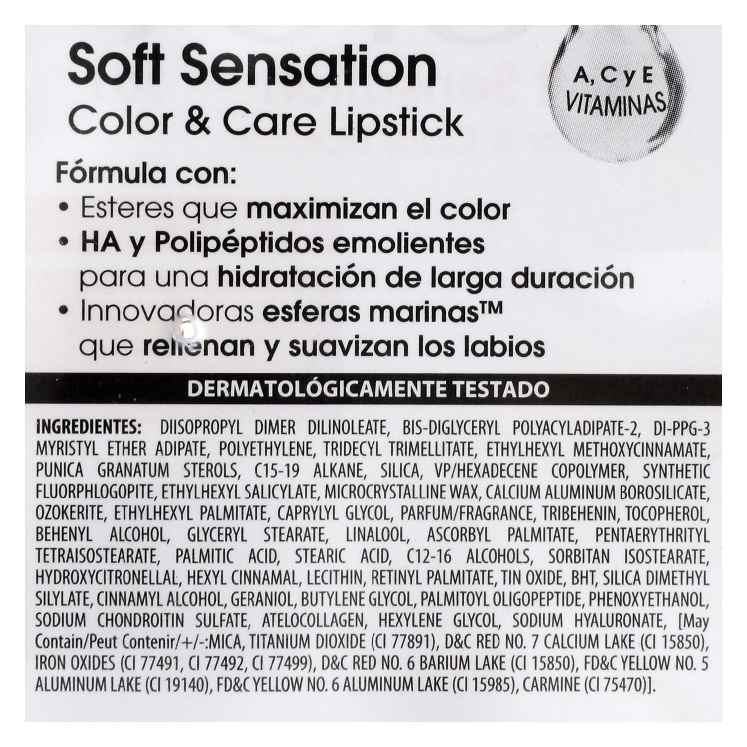 Barra de labios Soft Sensation Color&Care nº301 satin mauve -