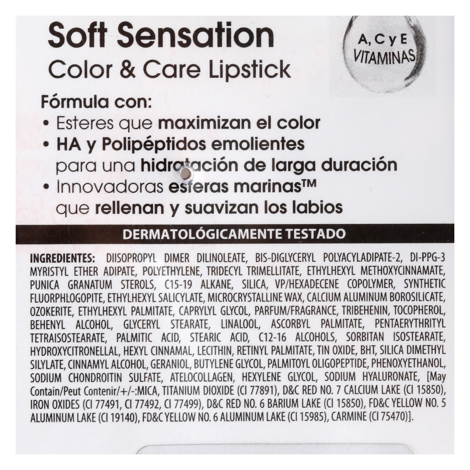 Barra de labios Soft Sensation nº 602 -