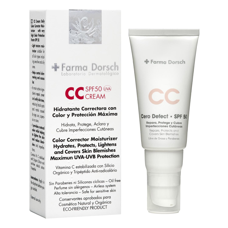 Crema reparadora y protectora FP 50 - 50 ml. Farma Dorsch 1 ud.