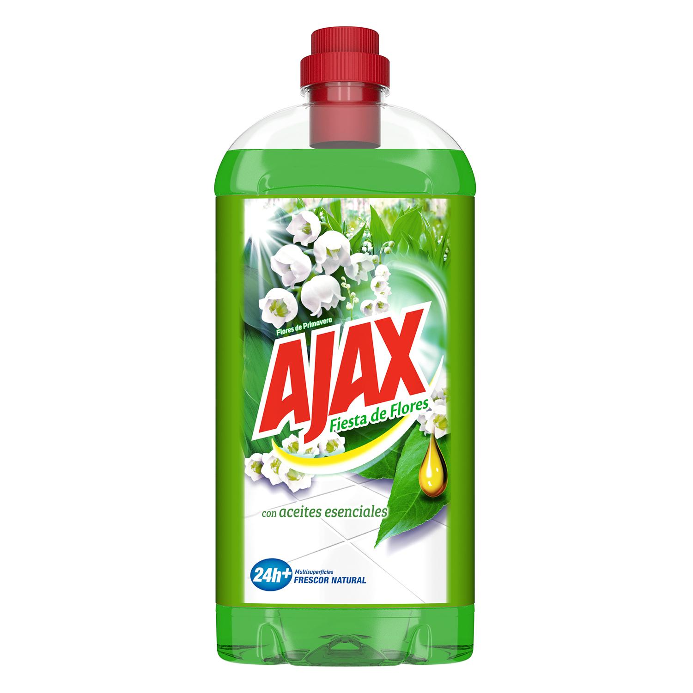 Limpiahogar flores de primavera Ajax 1 l.