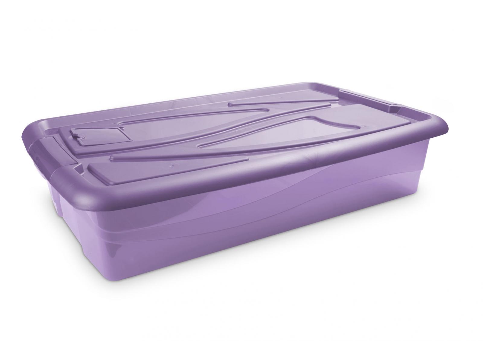 Baúl bajocama antipolillas violeta