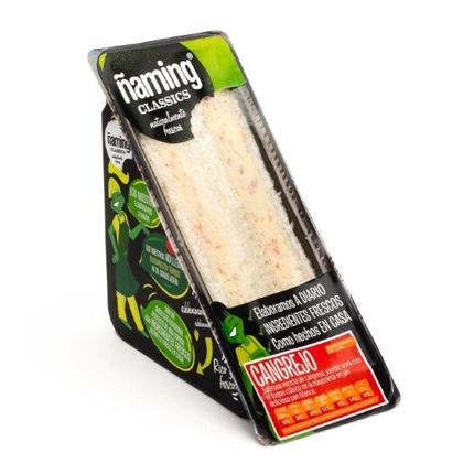 Sandwich de cangrejo clásico