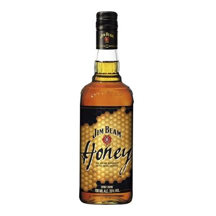 Whisky Jim Beam con miel 70 cl.