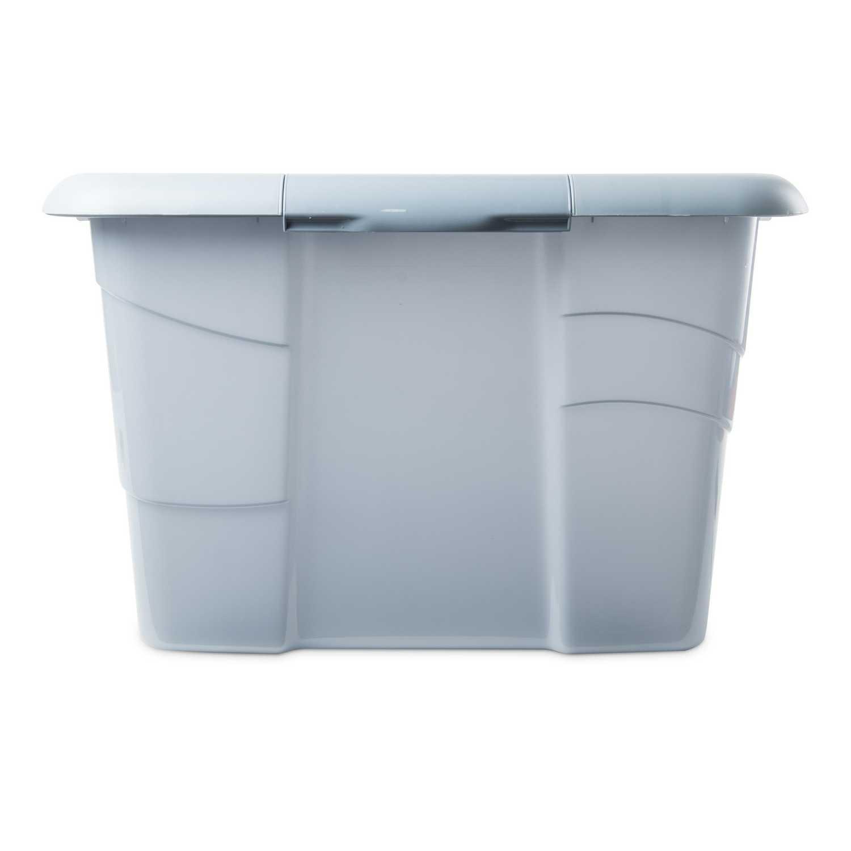 Caja de ordenación  de Plástico Carrefour 75 x 45 x 28 cm - Azul -
