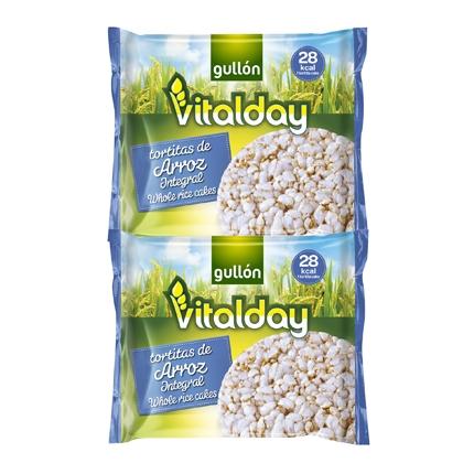 Tortitas de arroz integral Vitalday