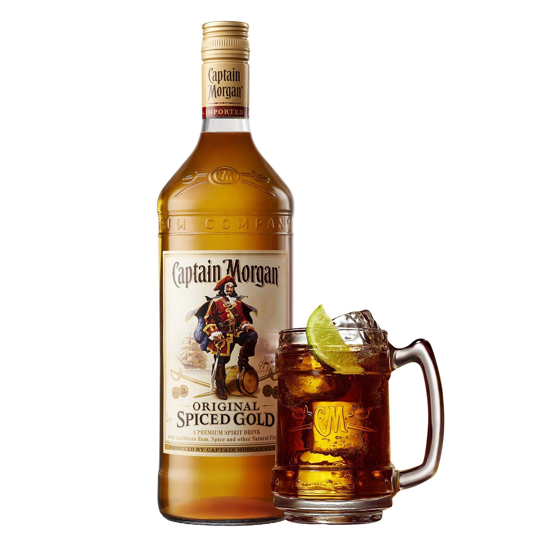 Ron Capitán Morgan spiced gold 70 cl. -