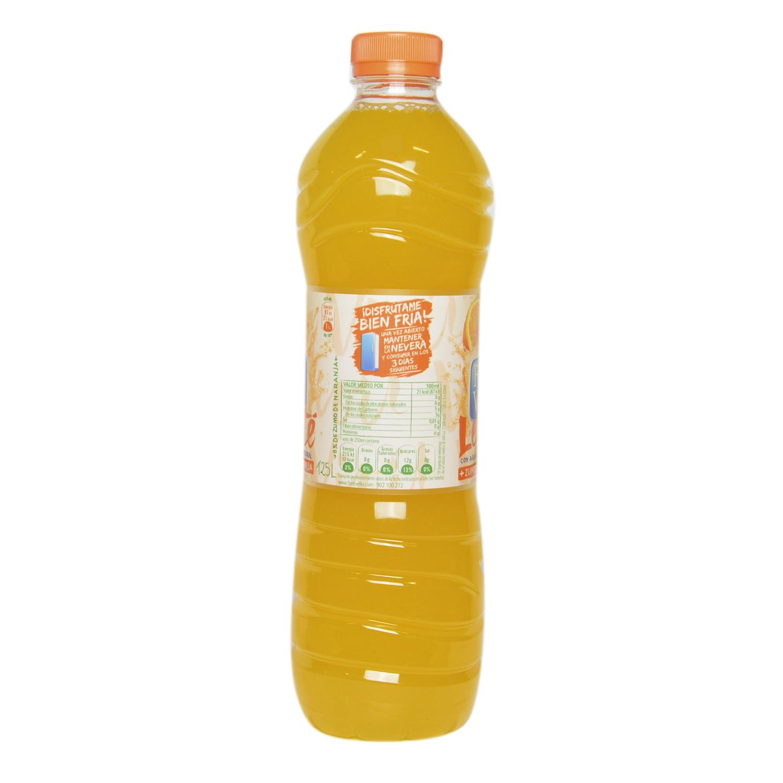 Agua mineral Font Vella Levité con zumo de naranja 1,25 l. -